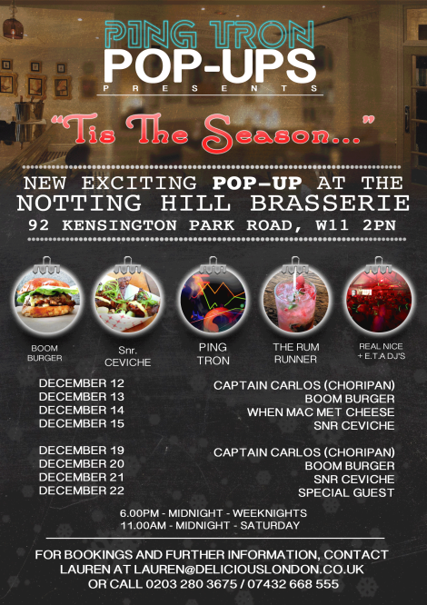 DELICIOUS London  PingTronPop-Up_listings