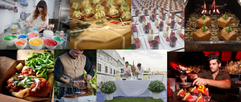 DELICIOUS LONDON CATERING INSPIRATION IMAGE