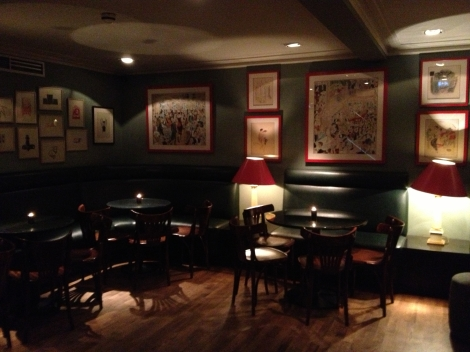 BROMPTON BAR & GRILL DOWNSTAIRS