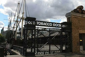 TOBACCO DOCK EVENTS
