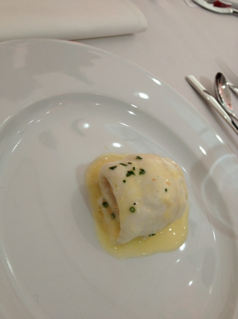 SUPER TASTY PRAWN STUFFED LEMON SOLE WITH A HERB BUTTER SAUCE