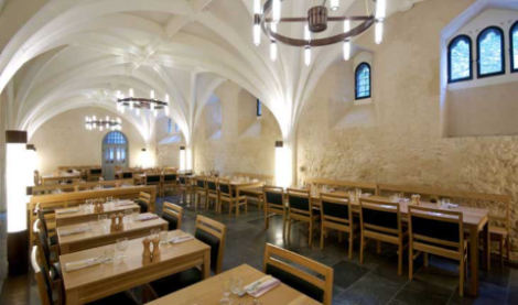AUGUST 2015 - 14TH CENTURY FOOD STORE WITH TERRACE, CENTRAL LONDON