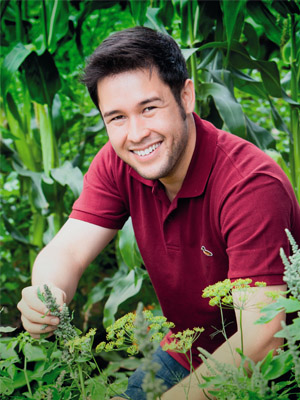 GREEN FINGERED JAMES WILL BE TALKING