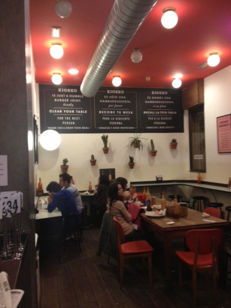 RELAXED, URBAN EATERY