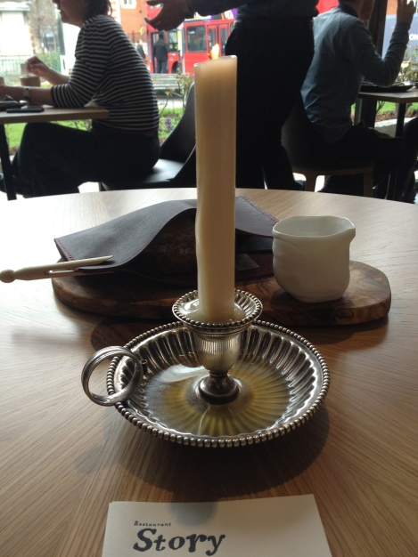 BREAD AND CANDLE DRIPPING