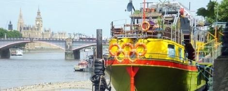 Delicious London 1930s Dutch Barge