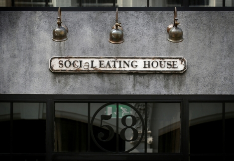 SOCIAL EATING HOUSE, APRIL 2013