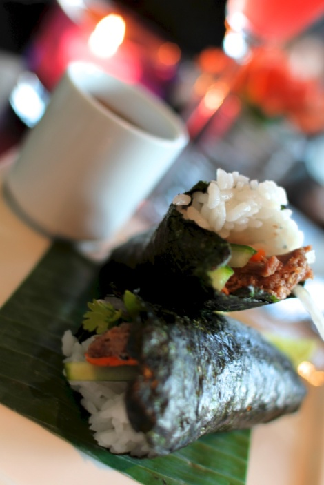 HEALTHY LUNCH TIME OPTIONS - HANDROLLS