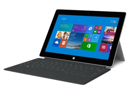 THE SURFACE 2 AND KEYPAD