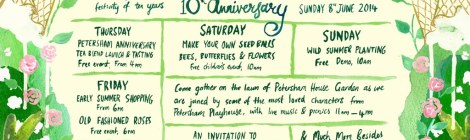 PETERSHAM NURSERIES 10 YEAR ANNIVERSARY