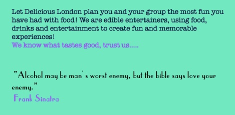 delicious london hen and stag parties