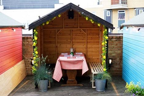 Best terrace bars and restaurants london, delicious London