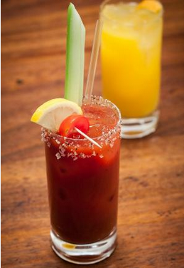 Delicious London Bloody Mary