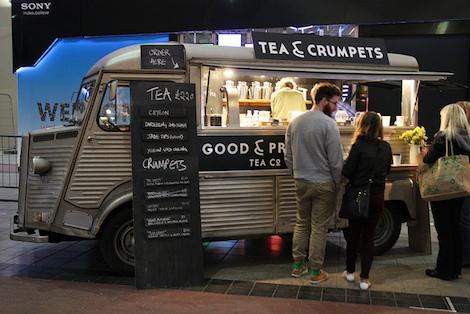 Tea & Crumpets Van