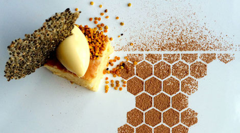 Bee Pollen Dessert - Image from Collectively.org