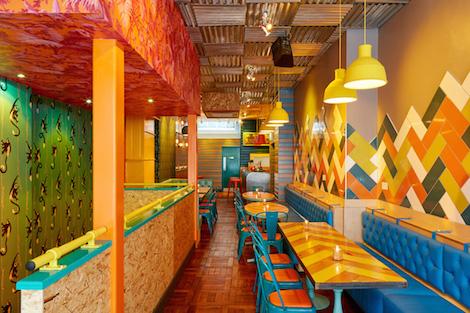 Barrio Soho Refurbishment Delicious London Review