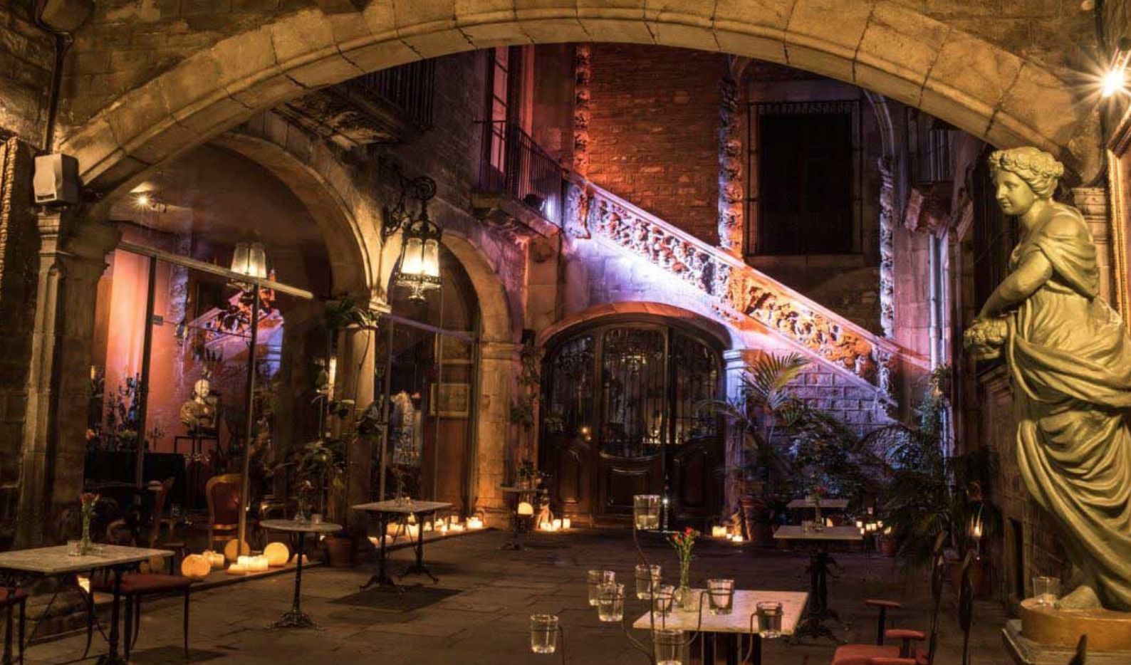 Delicious Barcelona wedding venues